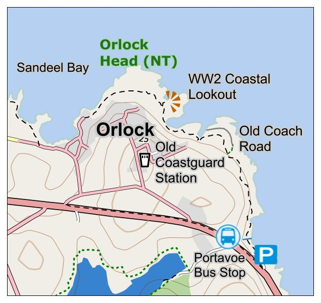 Map Of Ireland Headlands.Charlie Grand Day Out Ni
